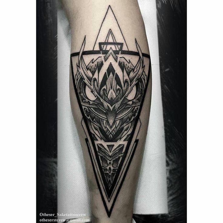 ❤ By artist ↪ @otheser_stc #tatouage #tatouages #tattoo #tattoos #artwork…