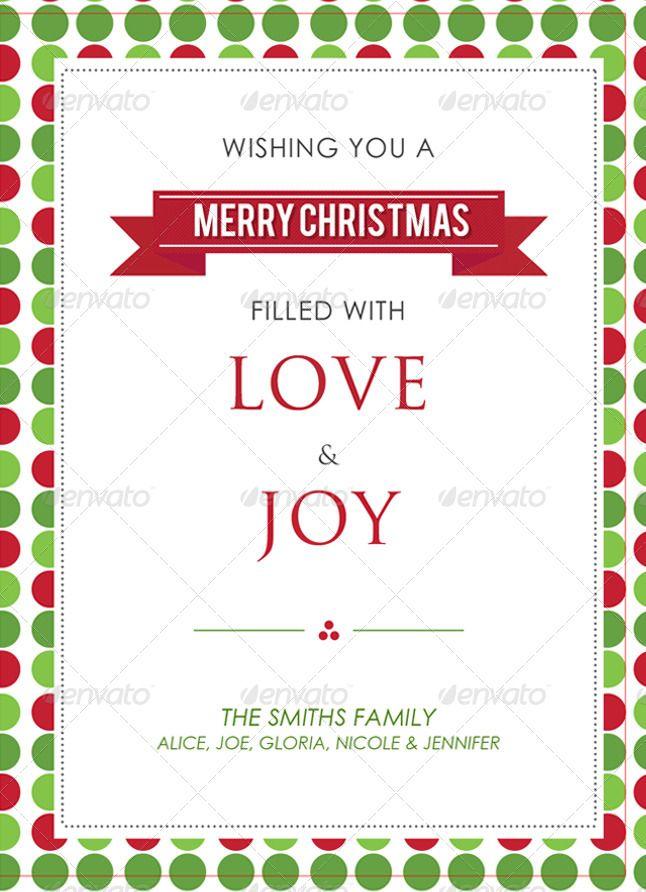 Modern Christmas Card V1 Affiliate Christmas Ad Modern Card In 2020 Modern Christmas Cards Christmas Card Template Xmas Card Template