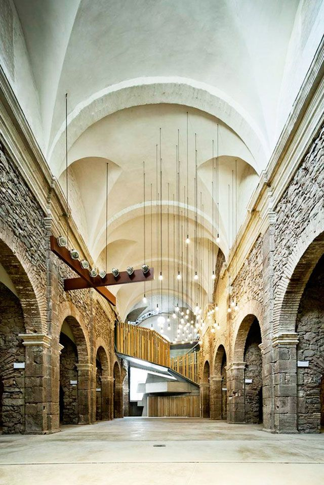 Dilapidated Sant Francesc Church Reinvented by David Closes // Santpedor, Spain. | yellowtrace blog »