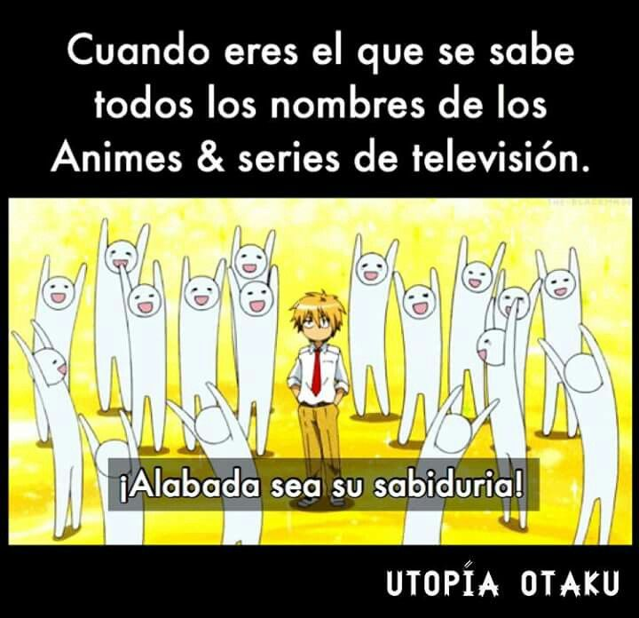 Resultado de imagen de memes anime español