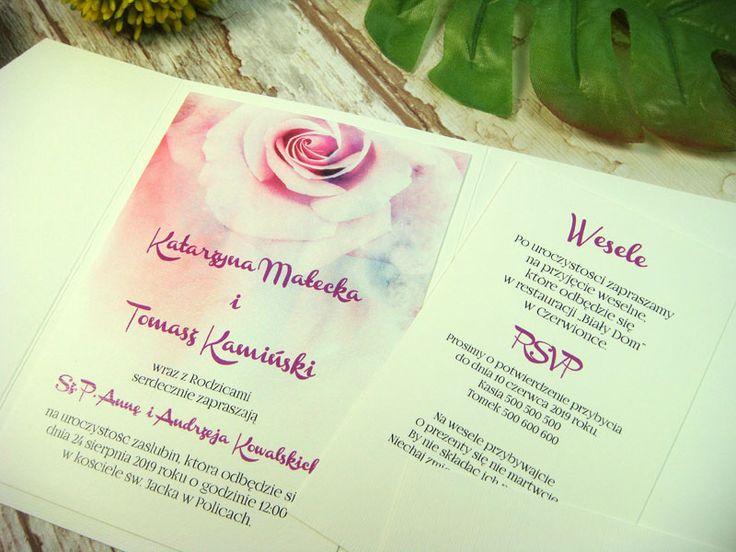 zaproszenie ślubne w folderze Hk1