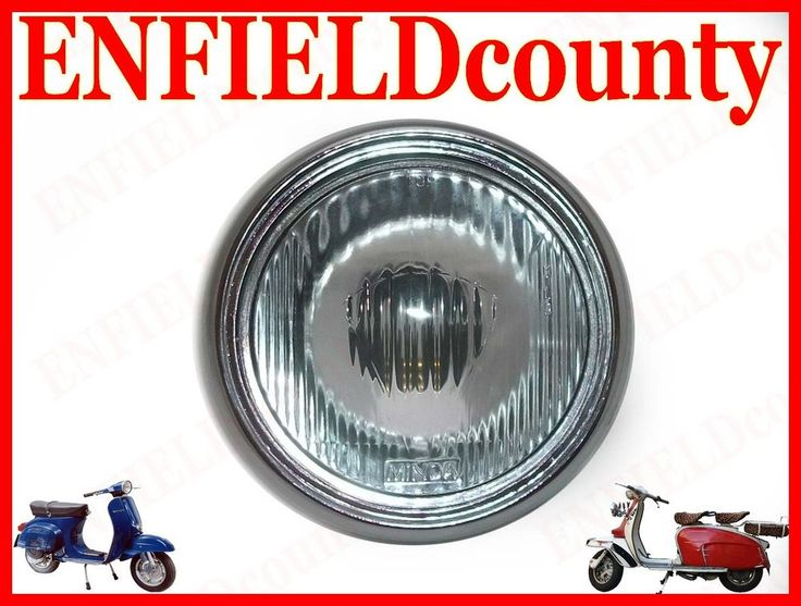BRAND NEW VESPA HEADLAMP HEADLIGHT ASSEMBLY FOR VLB VNC VBC VBB OLD VESPA MODELS