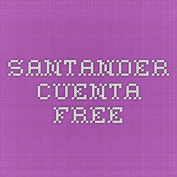 Santander - Cuenta Free