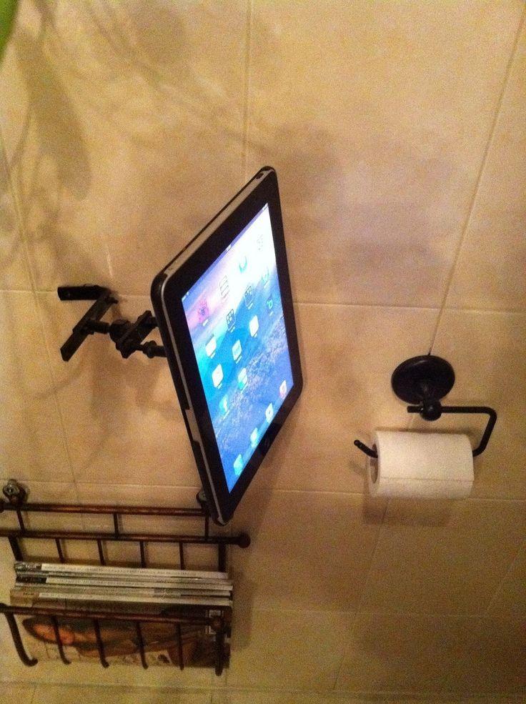 """iPad for Bathroom  -  """" iToilet """""""