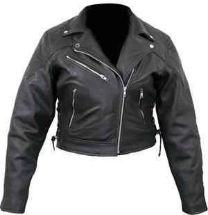 Кожанная мото куртка косуха