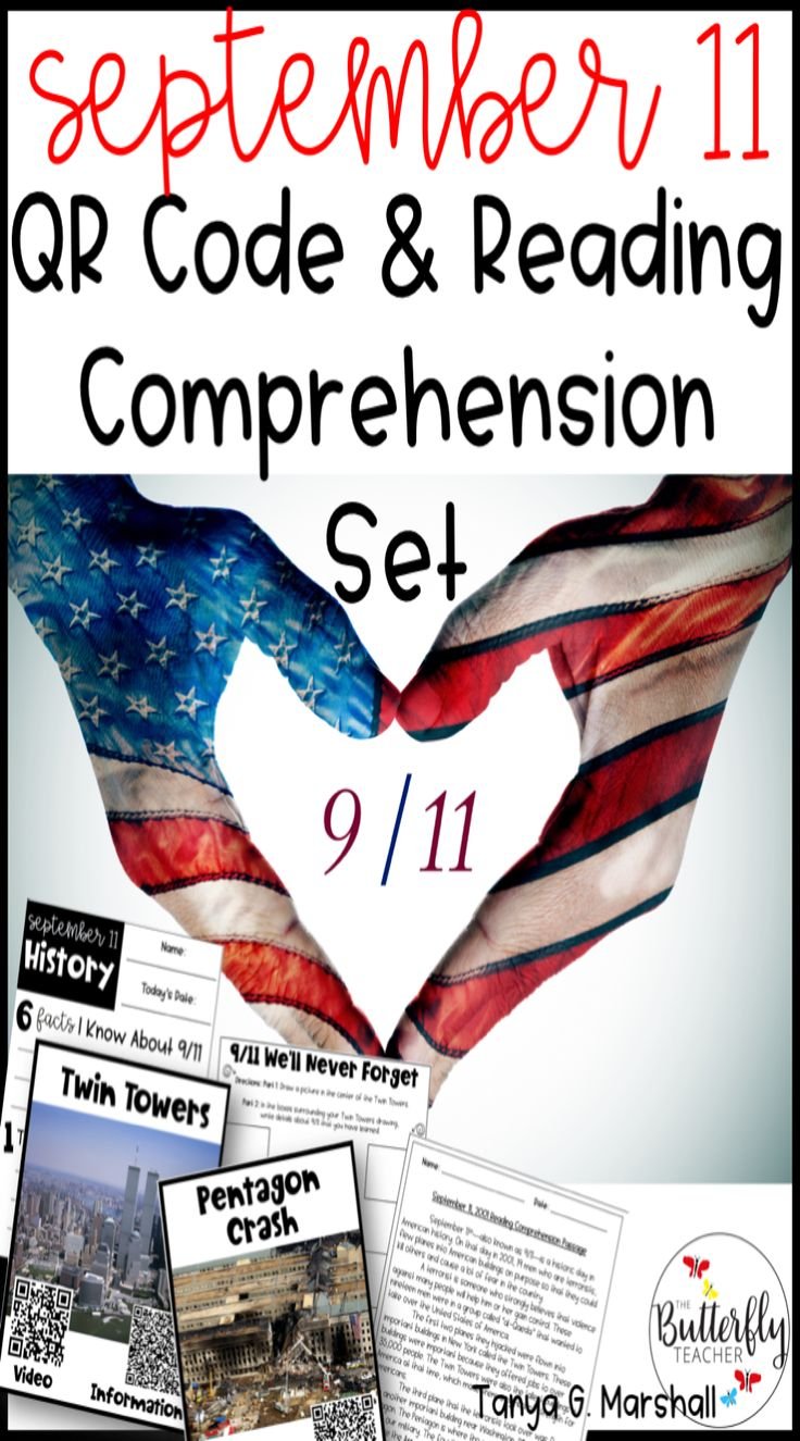 Teaching The Eventful History Of September 11th Does Not Have To Be Difficult For Tea Reading Comprehension Reading Comprehension Worksheets Qr Code Activities [ 1325 x 736 Pixel ]