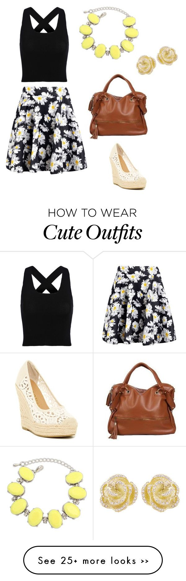 """""""Cute summer outfit"""" by gracemasterson on Polyvore featuring Groove, Boohoo, Miss Sweety, Ruby Rocks and Effy Jewelry"""