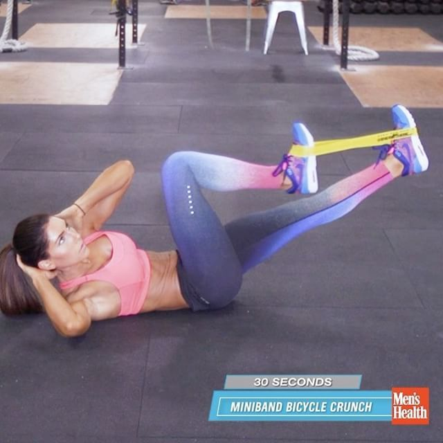Your abs will be begging for mercy once you've finished this 5-minute core workout from @alexia_clark
