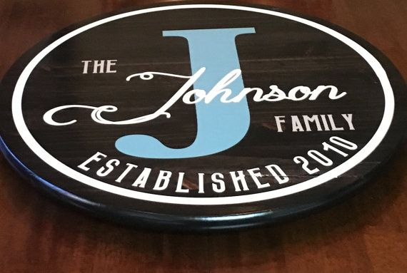 Custom Lazy Susan Lazy Susan Personalized Lazy by WoodenThatBeFun
