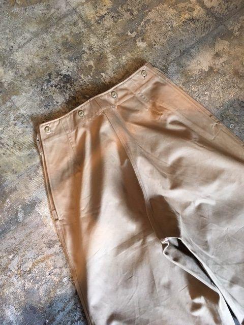 "TUKI/Military Baggs,Reverse ""old chino cloth"" (ツキのチノ素材のミリタリーバグス,リバース) | 東京駅、銀座、京橋エリアのセレクトショップ|BROWN&SEEDLING"