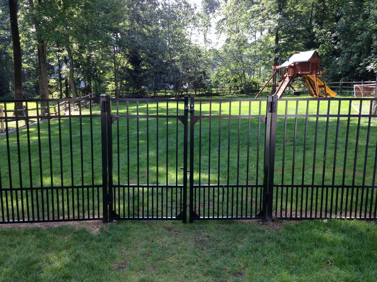 """I have an existing Jerith fence with about a 4"""" space between the pickets.  Is there a way to keep my small dog / puppy in the yard without replacing  my ..."""