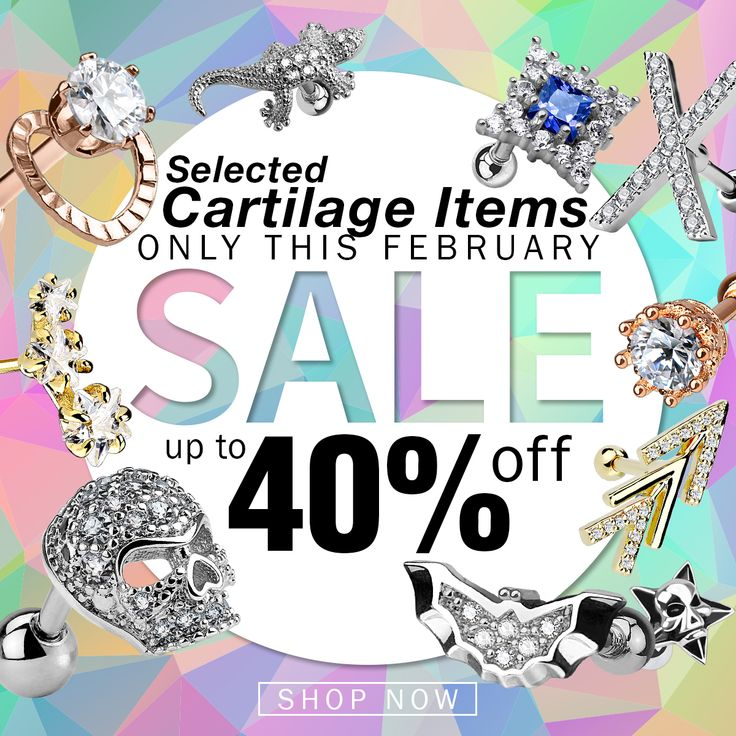 ⚡️UP TO 40% OFF⚡️New Deal⚡️ Selected Cartilage Piercings! Offer expires February 28, 2018, Midnight PST.   Specially selected items are available at http://www.hollywoodbodyjewelry.com/c/wholesale-body-jewelry/sale/  Wholesale Only. ✈Ships Worldwide - #sale #deal #bodyjewelry #jewelry #piercing #piercings #pierced #piercer #safepiercing #cartilage #helix #tragus #lobe #stretchedears #rook #daith #gem #bodypiercing #earpiercing #opal #gemstone #wholesale #wholesalejewelry