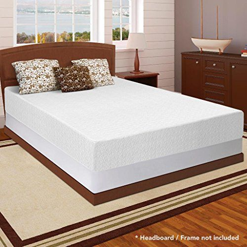Best Price Mattress® memory foam provides a great sleeping surface. In normal temperatures it is somewhat firm, but when you lay down, it starts reacting to the temperature of your body and begins to mold itself to your shape. Then, weight is evenly distributed along the surface, relieving ... more details available at https://furniture.bestselleroutlets.com/bedroom-furniture/mattresses-box-springs/mattresses-box-spring-sets/product-review-for-best-price-mattress-12-memory-f