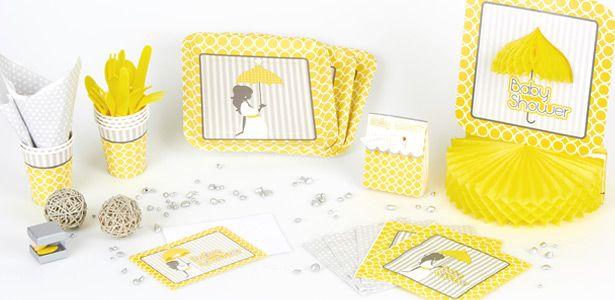 Decoration Baby Shower Fashion pour baptême et baby shower sur VegaooParty