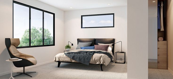 st claire townhouse mckinnon bedroom off the plan
