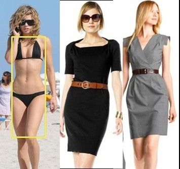The Rectangle/Lymphatic/Banana body shape by madge