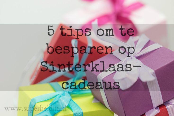 5 tips om te besparen op sinterklaascadeaus