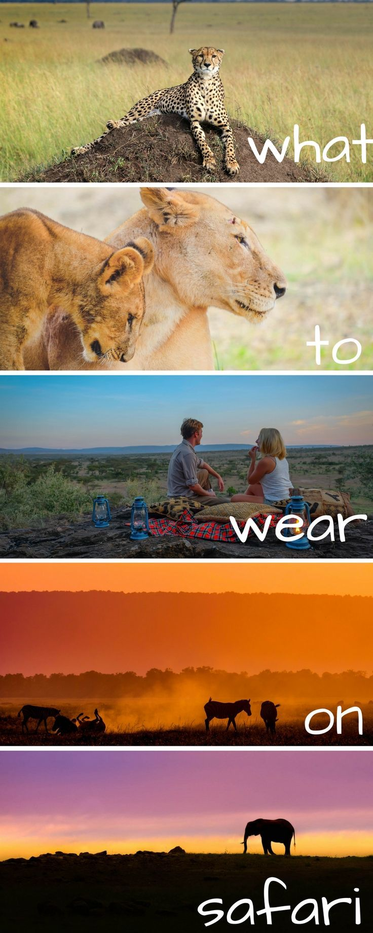 If you're wondering what to wear for an African safari we have you covered. Doesn't matter where you are going you will want these clothes for your safari in Tanzania, Kenya, South Africa or anywhere!