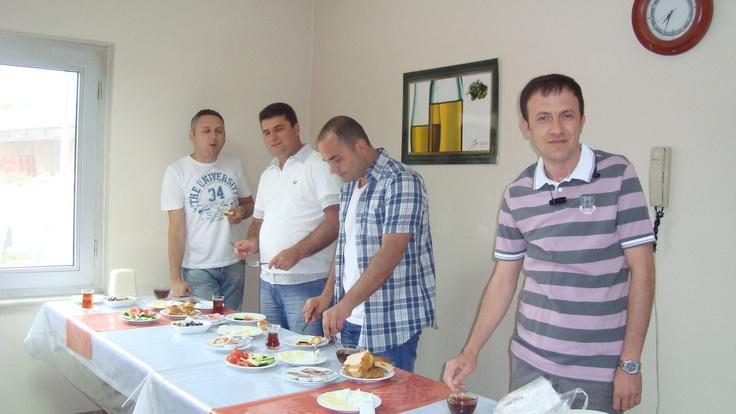 Breakfast at the Company