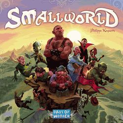 Smallworld - conquer the board. Good game mechanics. Very enjoyable.