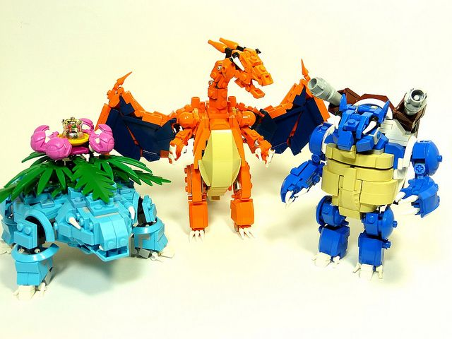 PokéMecha, LEGO Figures of Pokémon as Robot Mechs