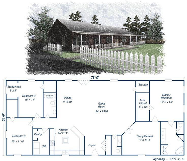 Marvelous 17 Best Ideas About Simple House Plans On Pinterest Metal House Largest Home Design Picture Inspirations Pitcheantrous