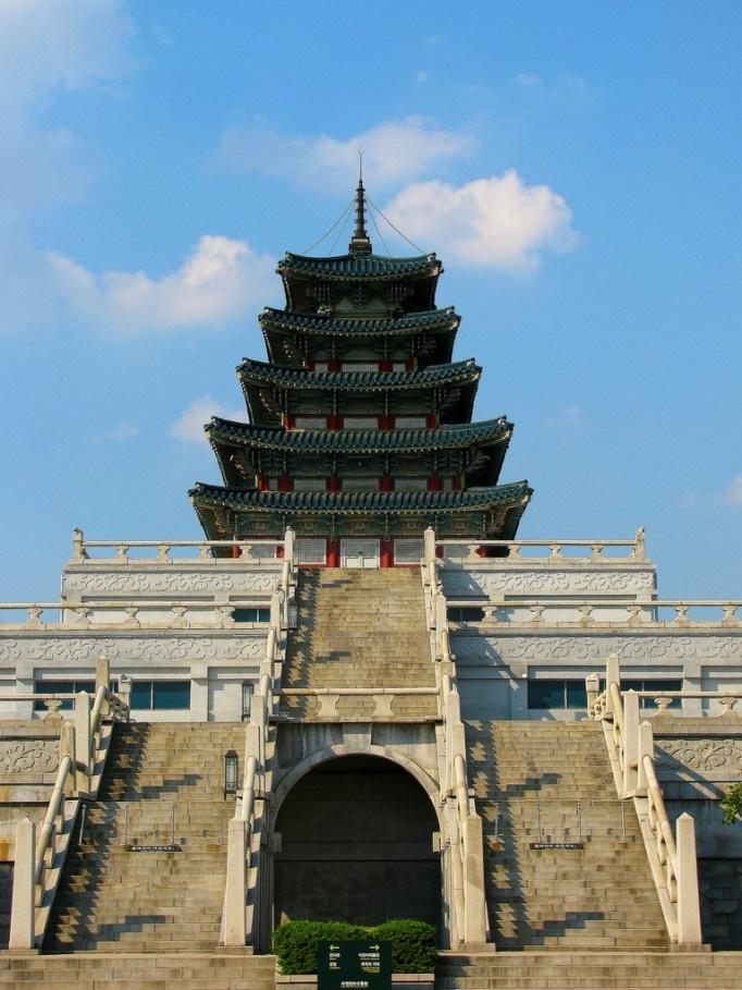 Gyungbokgung (귱복궁) Palace in Seoul, Korea