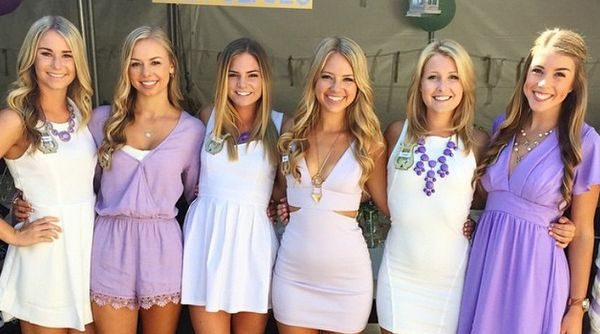The first paragraph is awful, actual embarrassment to whatever university she was allowed to attend.  Top 100 Colleges With Most Attractive Sororities