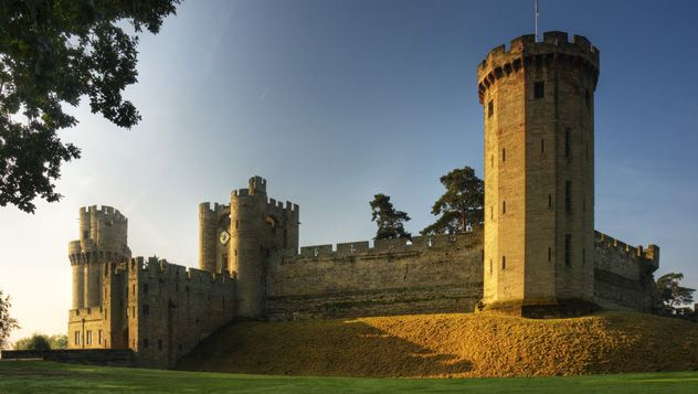 Castillo de Warwick, Warwickshire © Warwick Castle