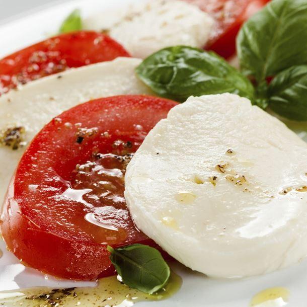 Salade Caprese tomate mozzarella