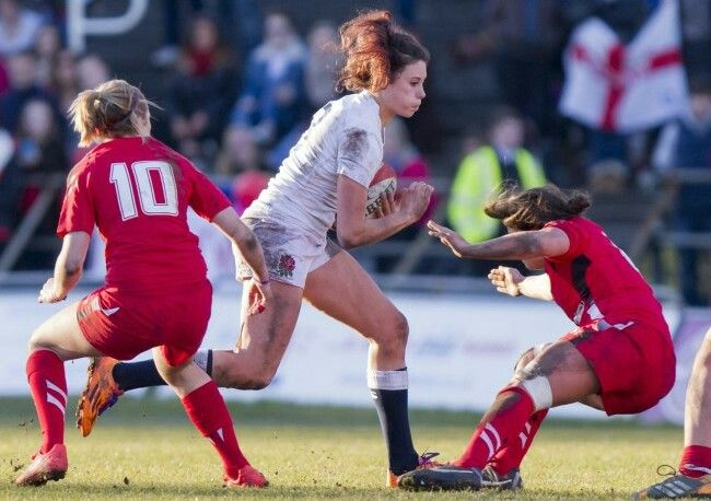 Having played loose head prop for nearly 20 years I have to concede that Abbie Brown may just be slightly more skillful speedy and attractive.