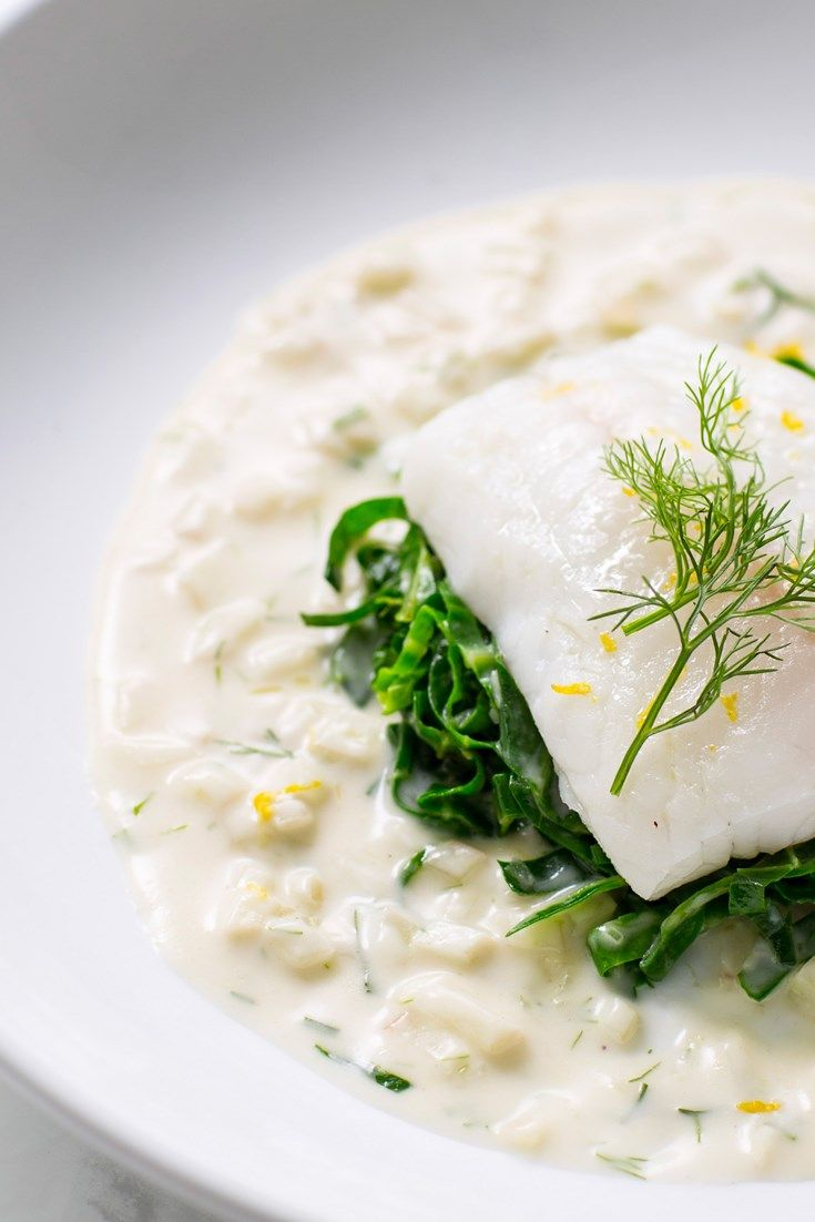Galton Blackiston serves up luxurious poached turbot recipe, paired with a rich and creamy fennel velouté.