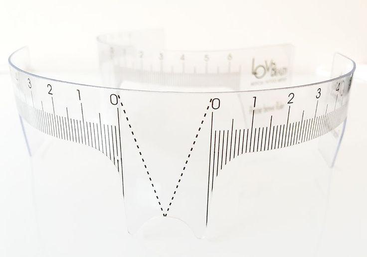 Precise Brows Ruler for Easy Eyebrow Design