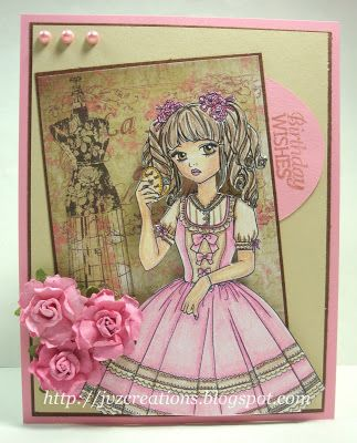 Lemon Shortbread - Sweet Lolita Compact (sold)