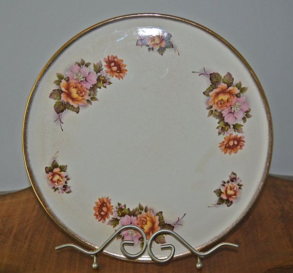 Cake Plate Serving Plate H Aynsley & Co by Collectitorium on Etsy