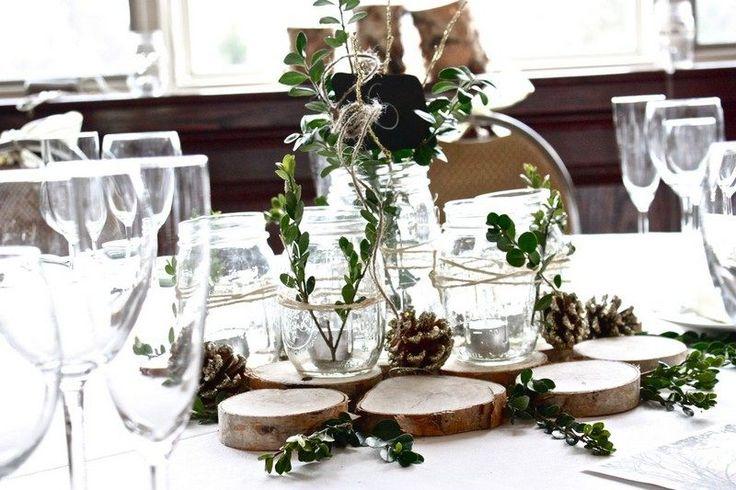 Déco mariage hiver au charme rustique ou féerie hivernale