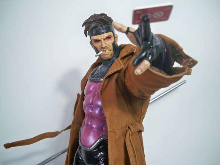 K1700008 Gambit Premium Format Sideshow Collectibles Mint in Box Signed Jim Lee | eBay