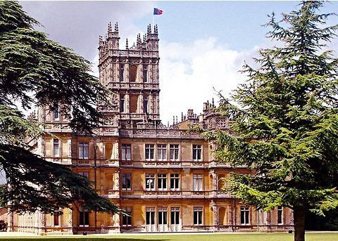 I would love to tour the castle from 'Downton Abbey'!! The Highclere Castle, a short train ride from London's city center.