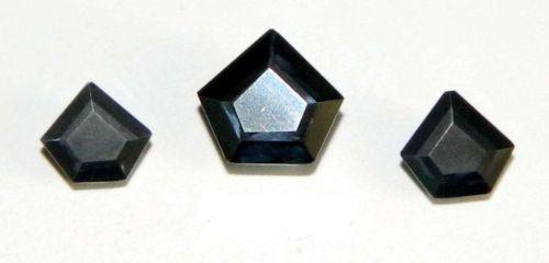 3-94-Ct-Amazing-Pentagon-Shape-Loose-Moissanite-Black-Diamond-Finest-Quality