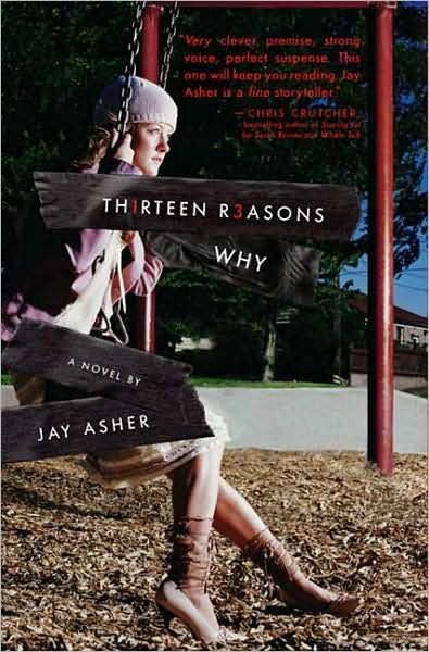 MUST READ! Its supposed to be a teen book but it completely changed my view of the world. Its a book about a girl who commits suicide and sends these tapes to a boy telling him the 13 reasons why she killed herself. Its definitely an eye opener and I highly recommend it.