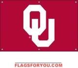 Oklahoma Sooners Fan Banner 2' x 3'