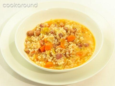 Minestra di riso e farro: Ricetta Tipica Lombardia | Cookaround