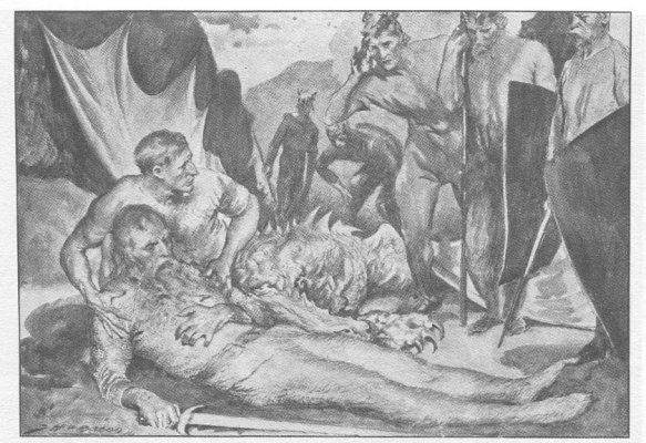 a comparison of the battles of beowulf Free beowulf compare papers,  a comparison of beowulf and icelandic sagas - beowulf and icelandic  (as exemplified in beowulf and the battle of.