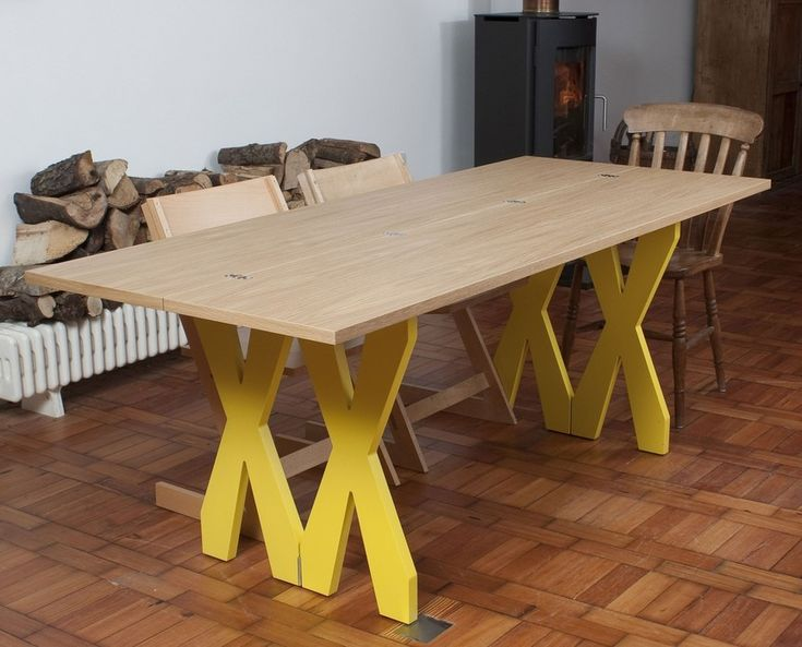 17 meilleures id es propos de table en contreplaqu sur pinterest plywood - Console qui se transforme en table ...
