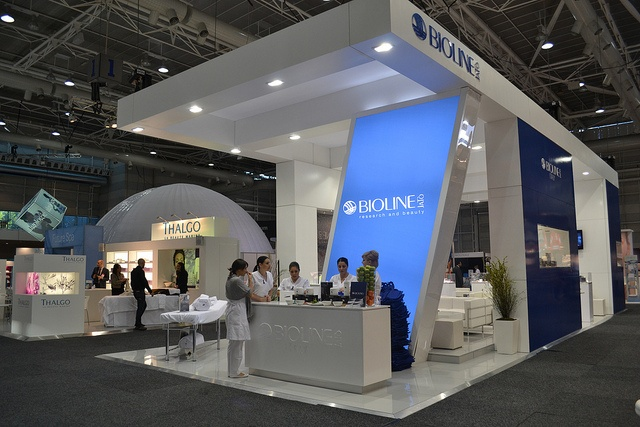 Creative Expo Stands : Best images about trade show booths on pinterest