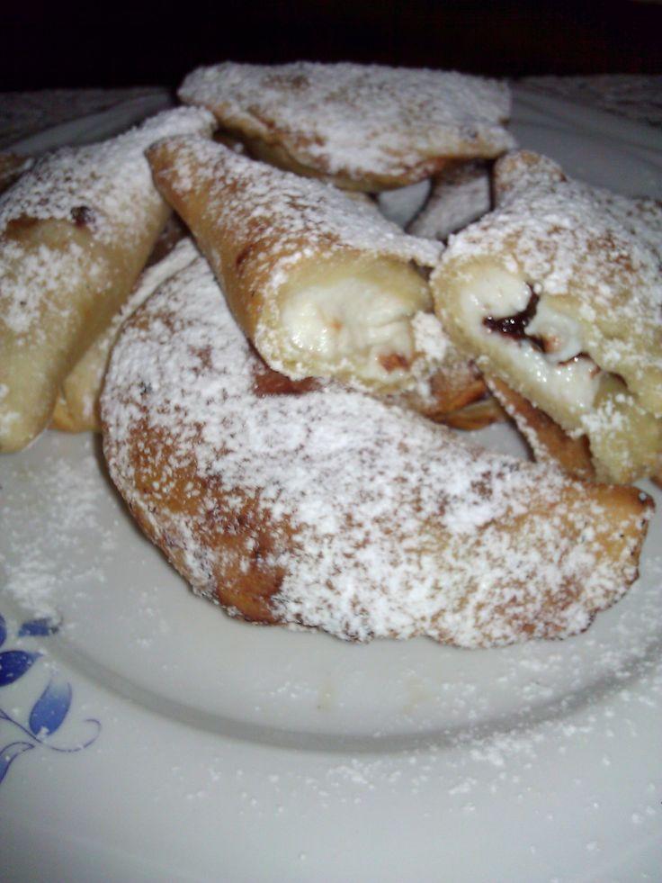 """Ottimo dolce tipico della zona del Trapanese (Sicilia) dove la ricotta e la pastorizia sono un vero """"cult"""", le città di Castellammare del Golfo e di Erice"""