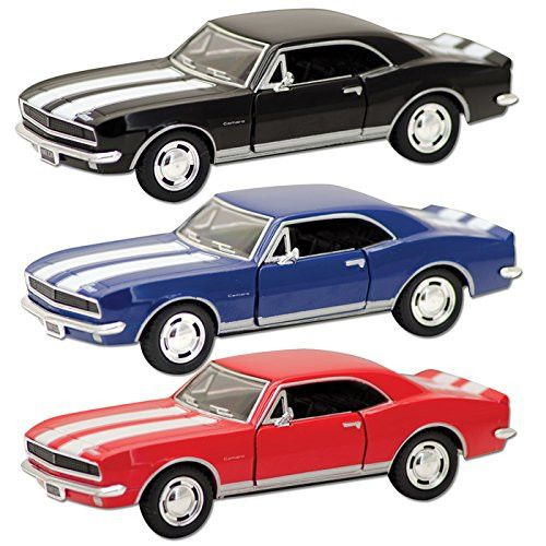 Die Cast 67' Camaro (Sold Individually - Colors Vary)