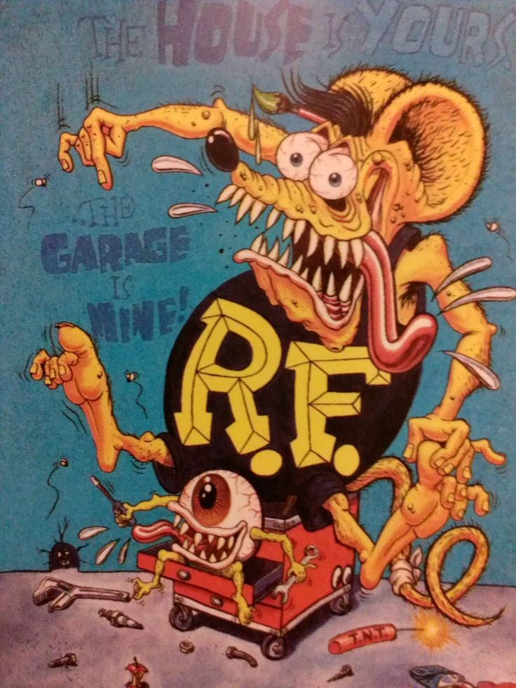 Muscle Car Decals >> 17 Best images about rat fink cards on Pinterest | Fast good, Chevy and Cartoon
