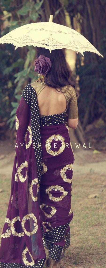 Saree by Ayush Kejriwal For purchases email me at designerayushkejriwal@hotmail.com or what's app me on 00447840384707 We ship WORLDWIDE. Instagram - designerayushkejriwal
