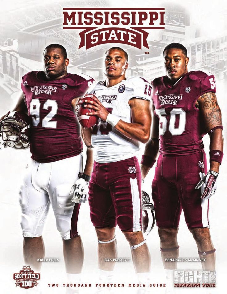 2014 Mississippi State Football Media Guide  The 2014 Mississippi State Football Media Guide featuring team info, roster, player & coaches bios, program history, records and more!